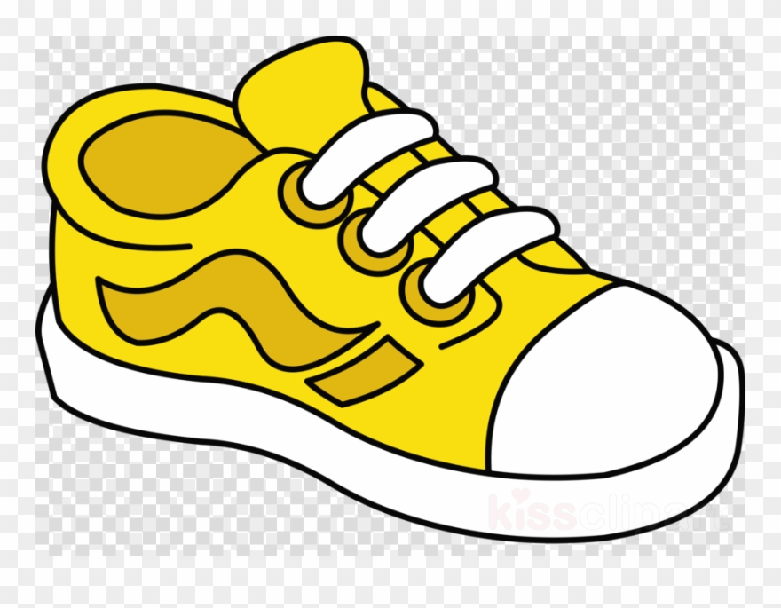 Download Shoe Clipart Sneakers Shoe Clip Art Yellow.