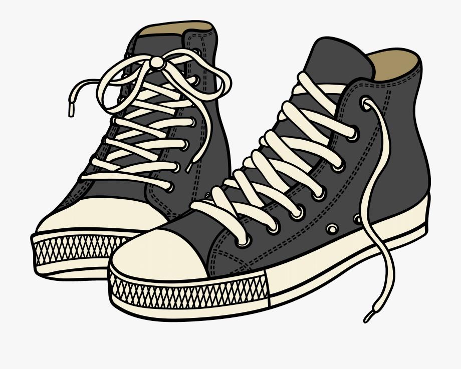 Converse Clipart Athletic Shoe.