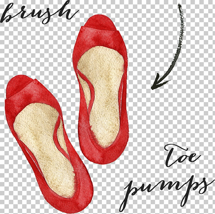 Clipping path editing Photo manipulation, Red shoes PNG.
