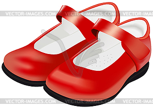 s red shoes for child.