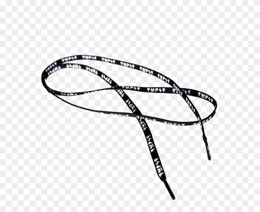 Black Shoe Laces Png Clipart (#1443200).