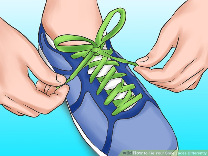 3 Ways to Tie Your Shoe Laces Differently.