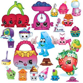 FREE! 215 Shopkins Clipart you can download for free on my.