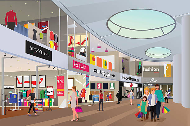 Shopping center clipart 1 » Clipart Station.