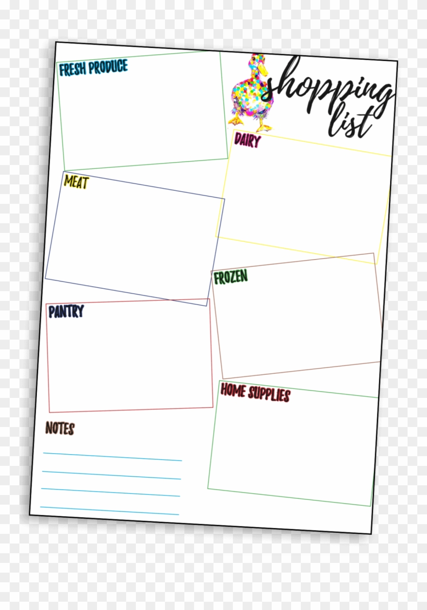 Shopping List Download Here Clipart (#2370658).