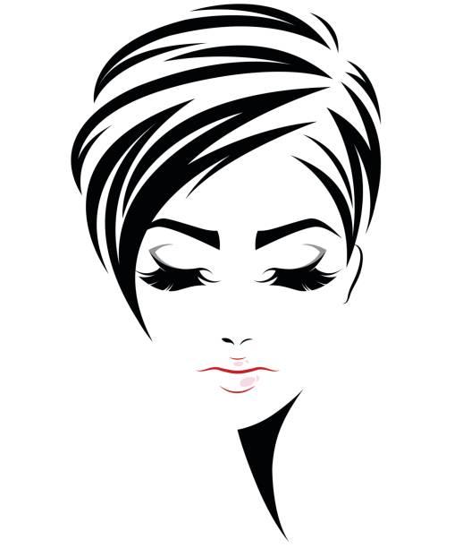 Best Short Hair Illustrations, Royalty.