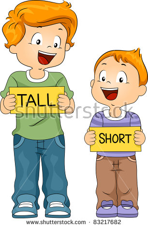 Tall Short Stock Images, Royalty.