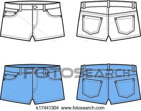 Shorts Clipart.