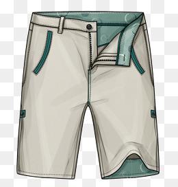 Short Pants PNG Images.