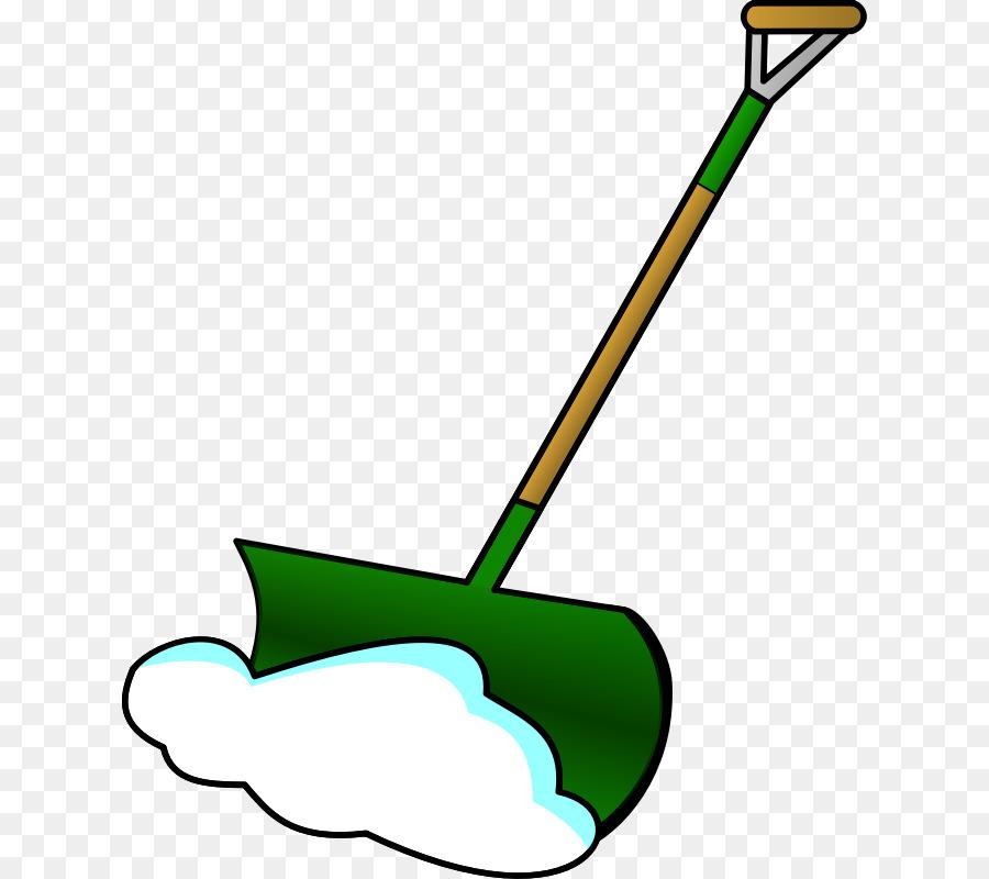Snow shovel Clip art.
