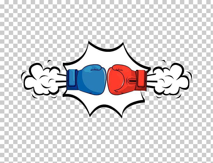 Boxing glove Punch , Boxing showdown PNG clipart.