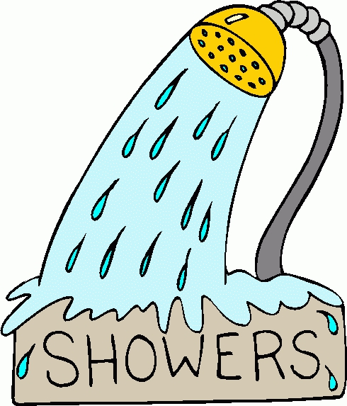 Taking A Shower Clipart#2123726.