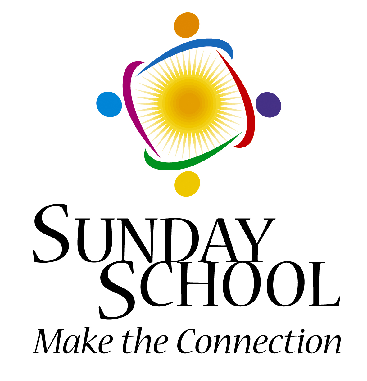 Clipart Showing Being Connected To The Sunday School.