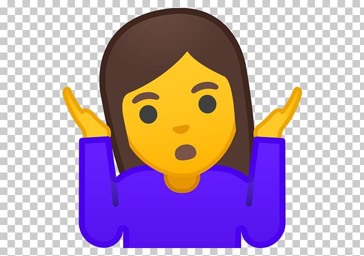 Shrug Emojipedia Emoticon Gesture, mean girls PNG clipart.
