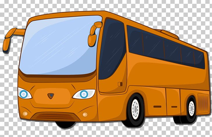 Airport Bus Commercial Vehicle Car Shuttle Bus Service PNG.