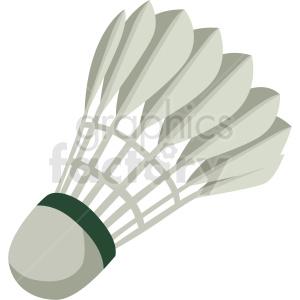 badminton shuttlecock vector clipart . Royalty.