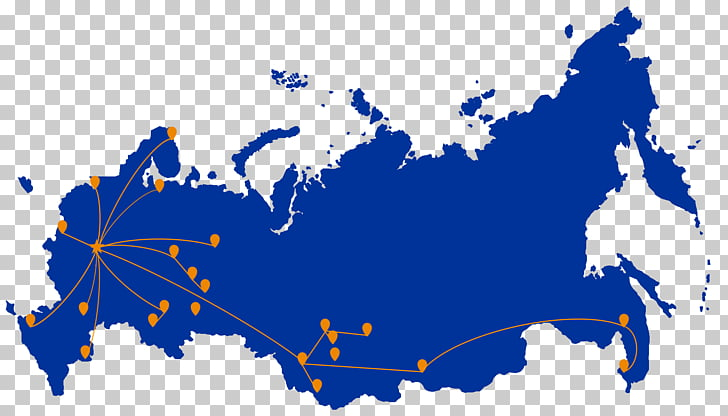 North Caucasus Siberia European Russia Krais of Russia Map.
