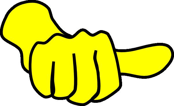 Thumbs Medium Side Clip Art at Clker.