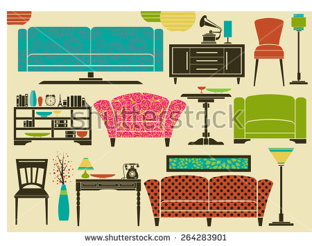 Side Table Stock Vectors, Images & Vector Art.