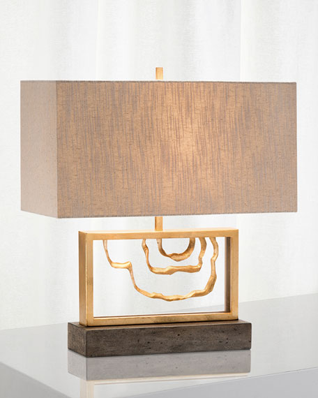 Lamp Collection : Floor & Crystal Table Lamps at Neiman Marcus.