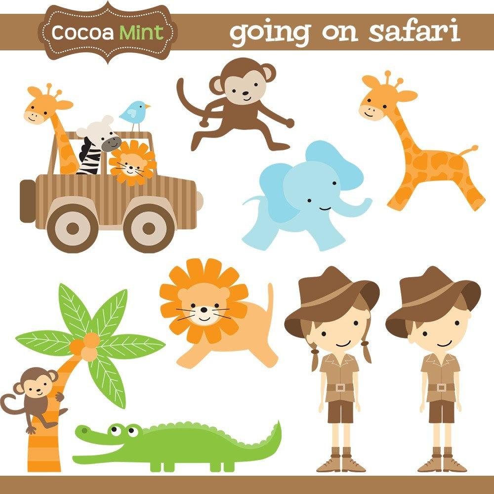 3563 Safari free clipart.