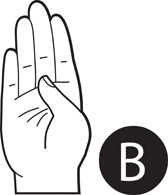 Free American Sign Language Clipart.