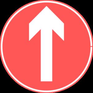 Up Road Sign Clip Art at Clker.com.