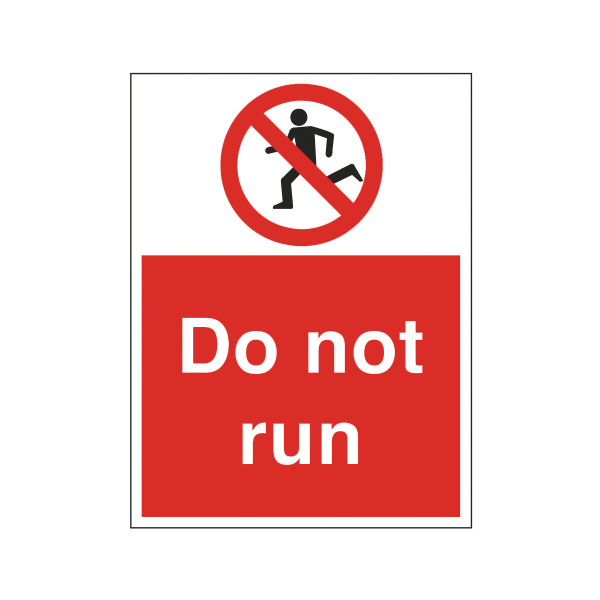 Do Not Run Safety Signs Symbols Free Cliparts That You Can.