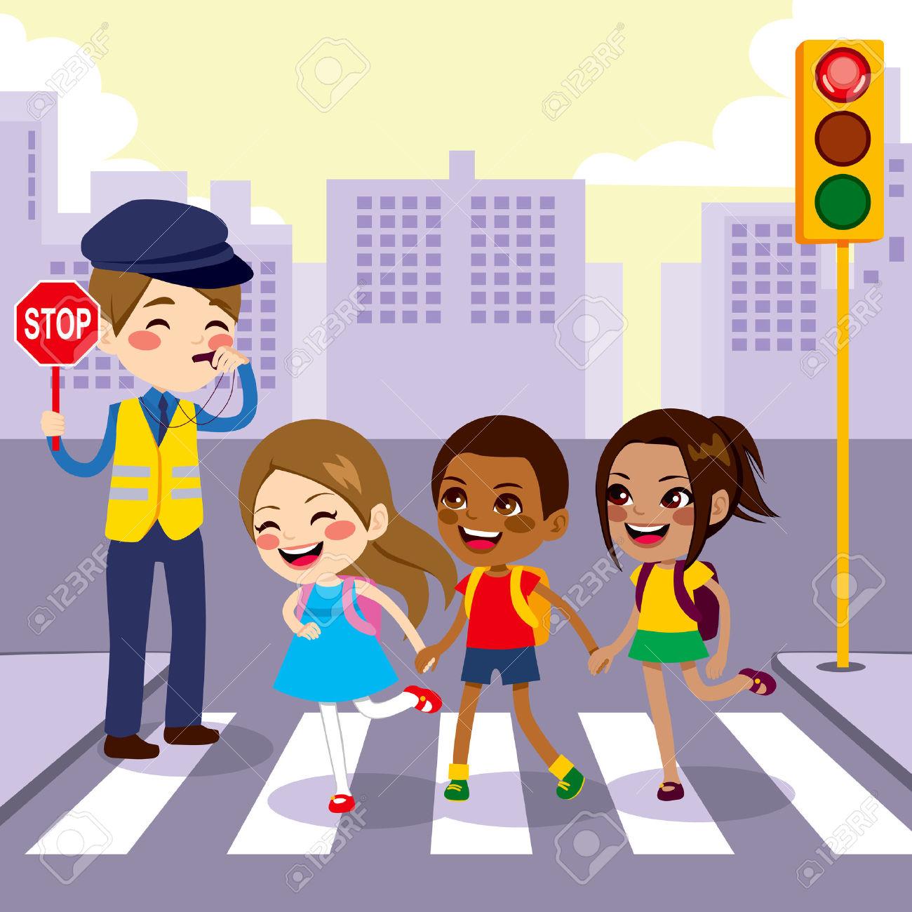 2,456 Crosswalk Stock Vector Illustration And Royalty Free.