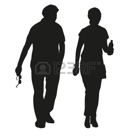 664,765 Silhouette Human Stock Vector Illustration And Royalty.