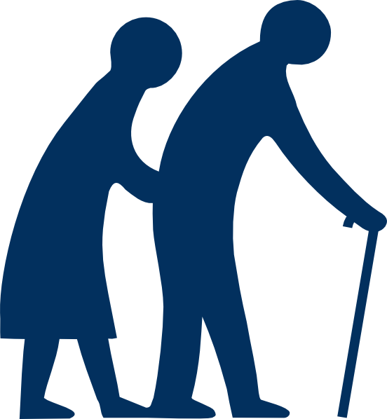 Elderly Silhouette Clip Art at Clker.com.