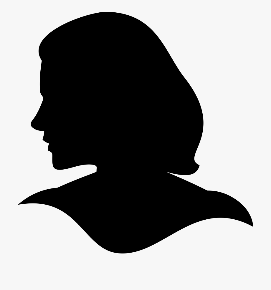 Face Silhouette Clipart.