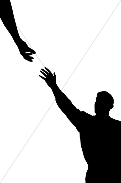 Helping Hand Christian Clipart.