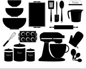 Kitchen vector.