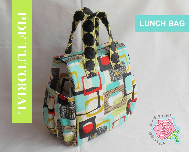Lunch bag pattern.