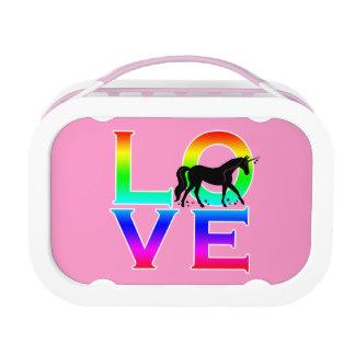 Rainbow Unicorn Lunch Boxes.