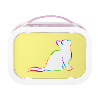 Cat Silhouette Lunch Boxes.