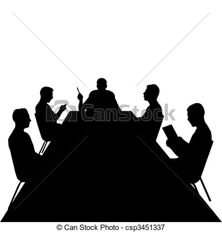 Vectors Illustration of Business Meeting.