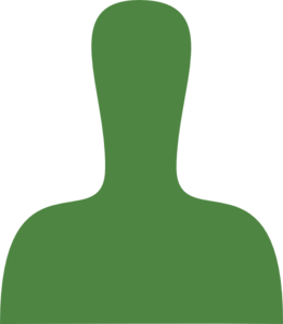 Green Person Silhouette Clip Art at Clker.com.