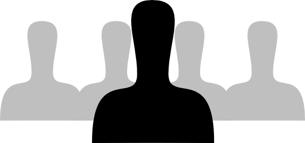 Silhouette Person.