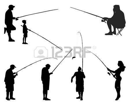 427 Fishing Woman Stock Vector Illustration And Royalty Free.