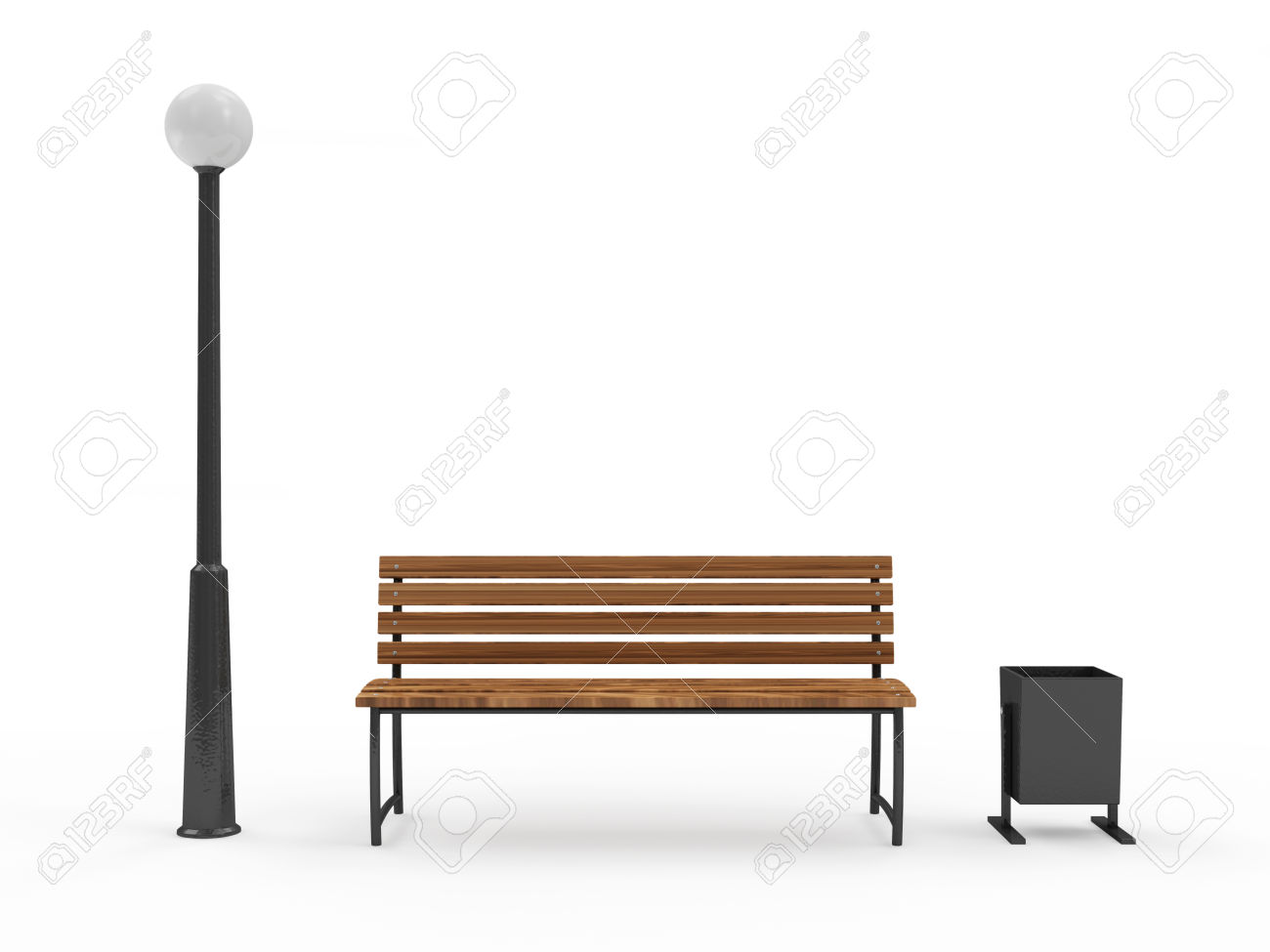 Clipart Silhouette Of Person On A Bench Near Street Lamp