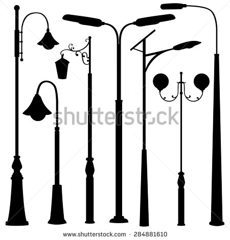 Lamppost Stock Images, Royalty.