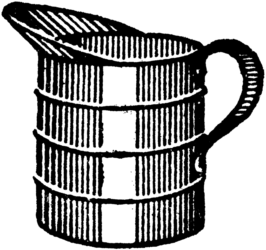 Gallon Quart Pint Cup Clipart#1964350.