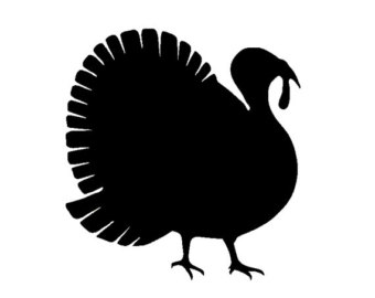 Turkey silhouette.