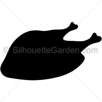 Cooked turkey silhouette clip art. Download free versions of the.