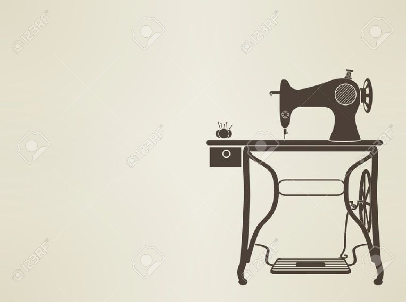 4,060 Sewing Machine Stock Vector Illustration And Royalty Free.