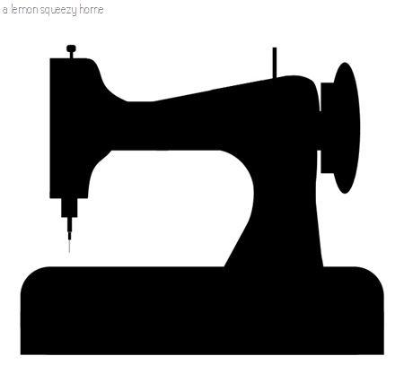sewing machine graphic.