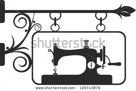 Vintage Sewing Machine Stock Images, Royalty.