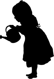 Silhouettes, old, old fashion, romantic, victorian, silhouette.